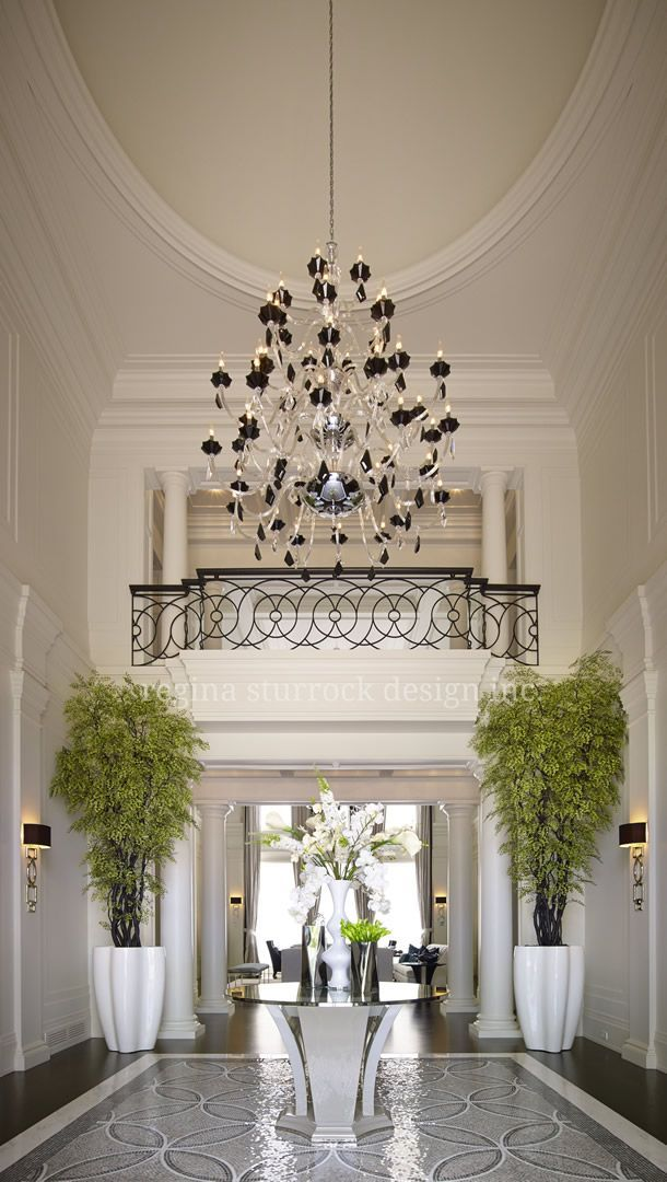Best 25 Grand Entryway Ideas On Pinterest Foyer Ceiling Detail And Black And Grey