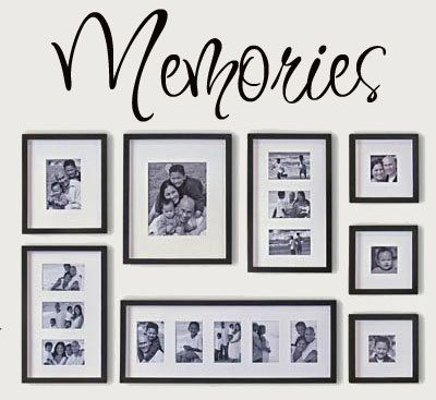 Memories Vinyl Lettering wall words graphics by itswritteninvinyl, $8.77