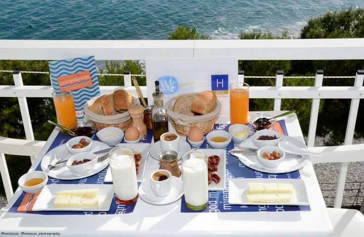 Traditional Tsakonian Breakfast that we serve to our guests every morning. Location: Tyros Peloponnese Greece