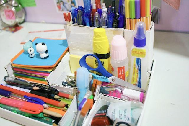 DIY : Desk Organiser