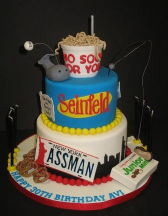 Seinfeld cake... for one of Dad's future birthdays