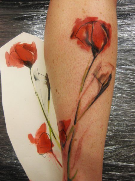 watercolor tattoo | tattoo design tattoo patterns| http://awesometattoophotos.blogspot.com