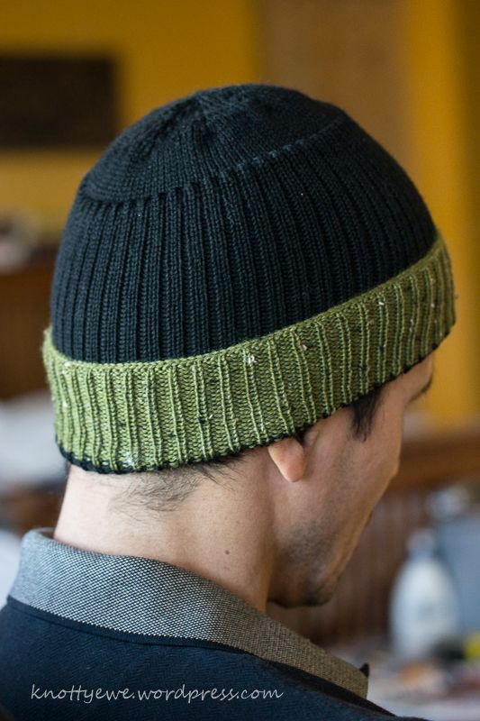 machine knitted hats