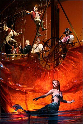 Broadway ~ Little Mermaid. Love