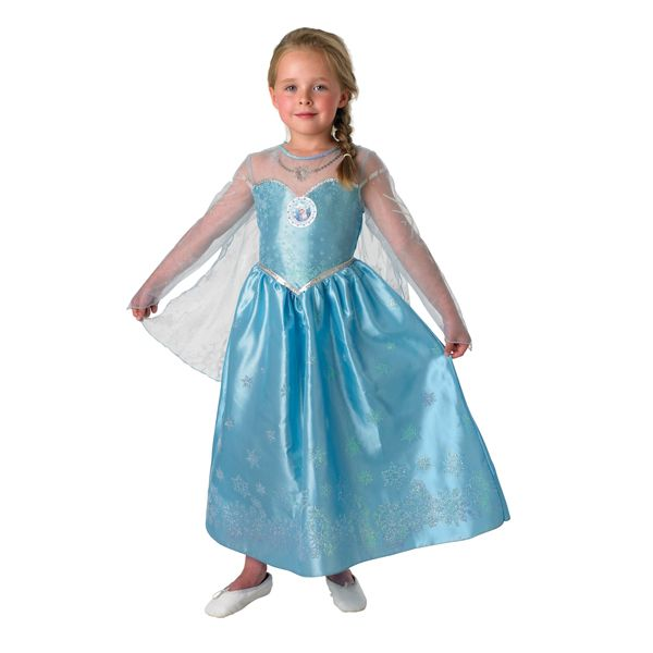 Frozen Deluxe Elsa Girls Costume - Fairy Blossom and Friends