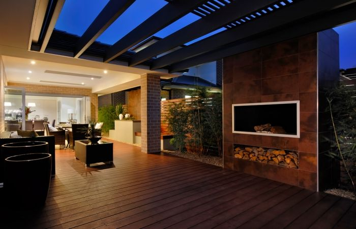 Trevelle Homes large outdoor entertaining area