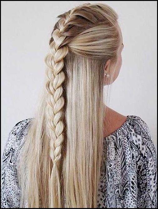 Wunderbare Geflochtene Lange Frisuren Fur Frauen Geflochtene