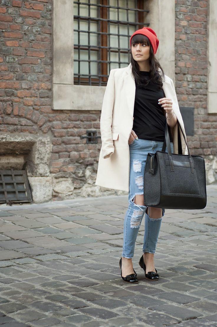 Beżowy płaszcz oversize - CAMMY - Blog o modzie | lifestylowy | o życiu | poradnik | motywacja