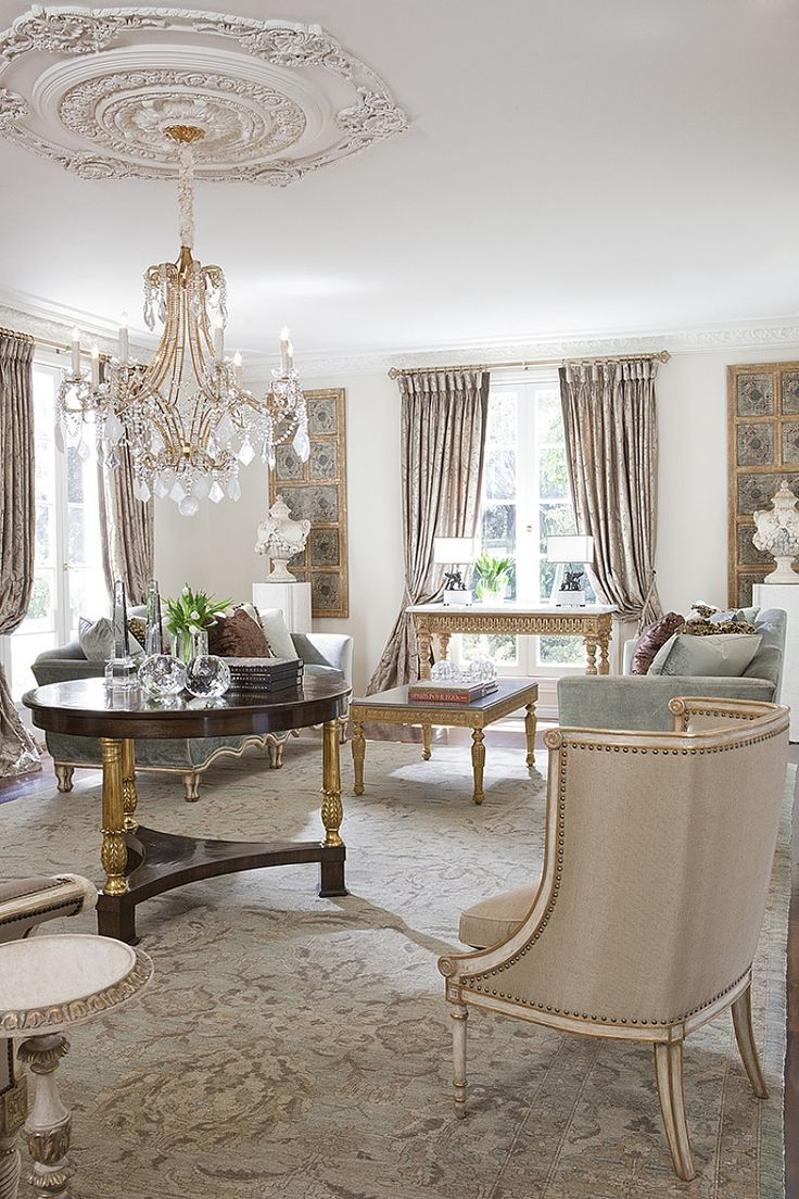 622 best Traditional living room images on Pinterest   Living spaces ...
