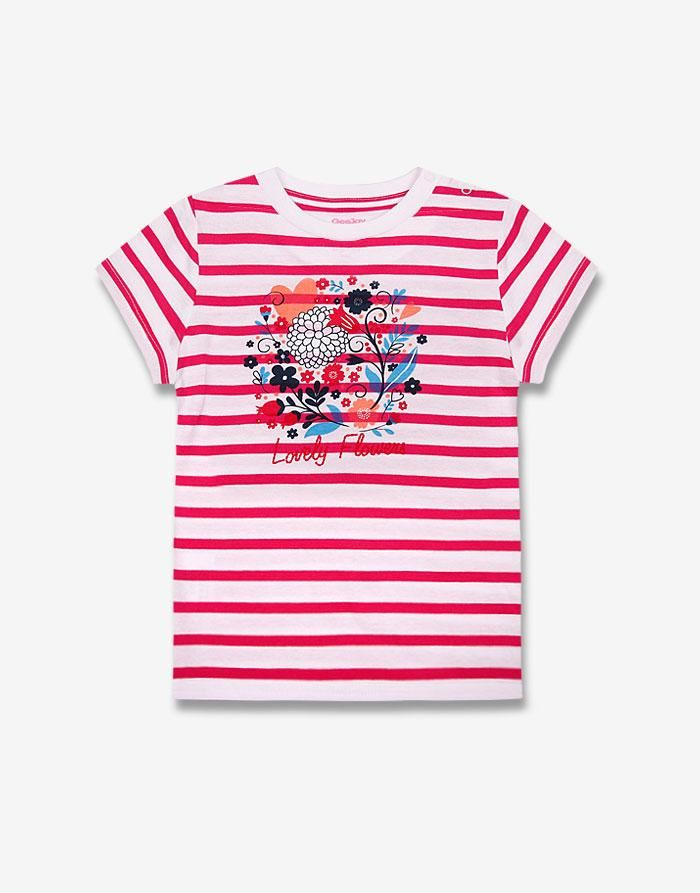 Полосатая футболка - Глория Джинс, GTS007555   Gloria Jeans