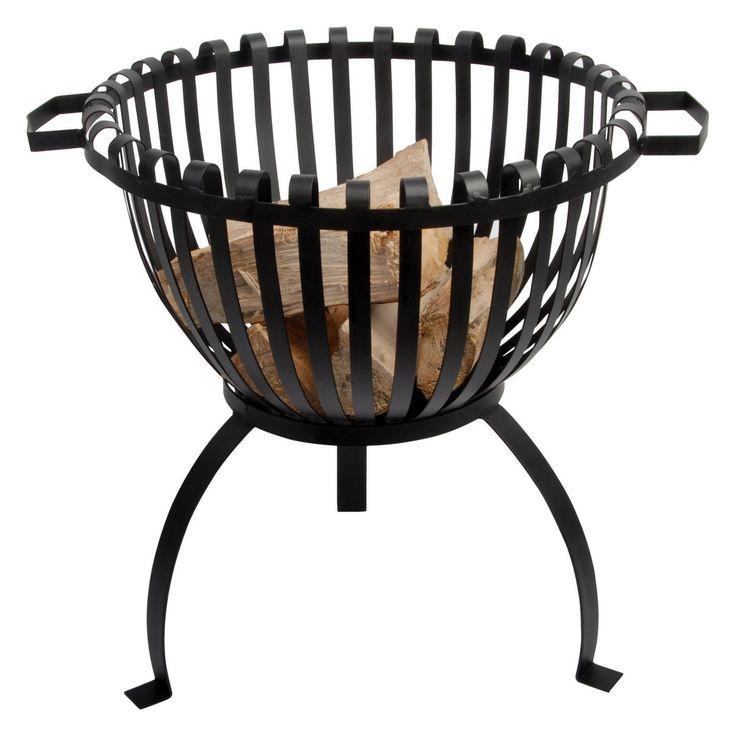 Esschert Design Tulip Basket Fire Pit - FF102