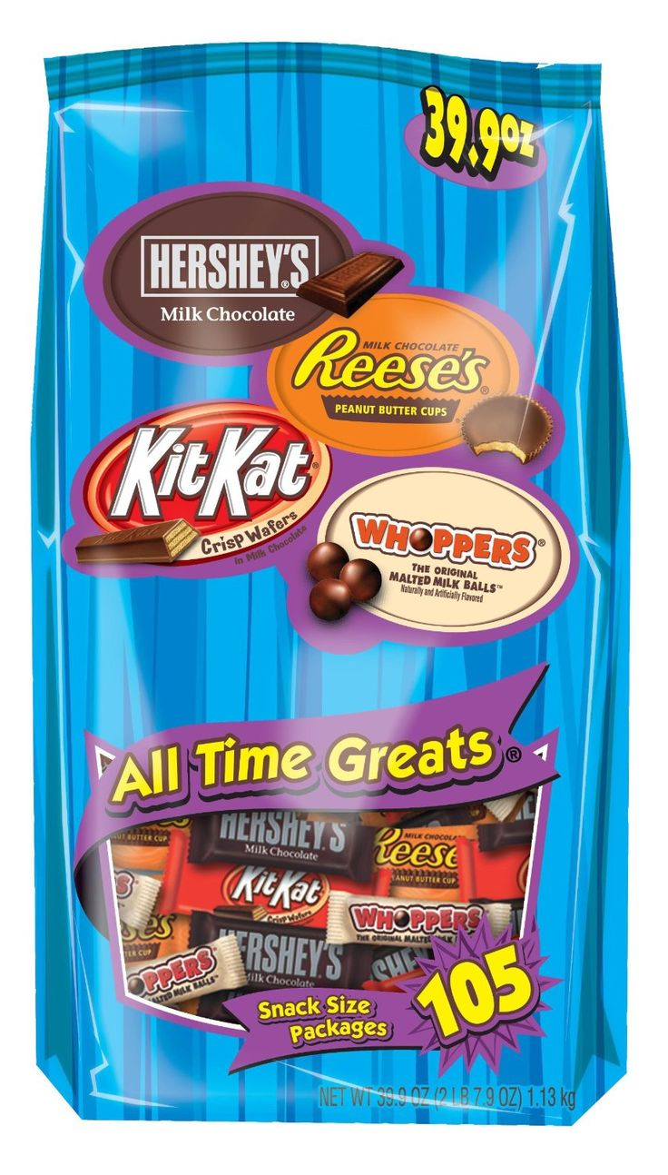Get four of your favorite HERSHEY'S Candy Bars in one huge ...