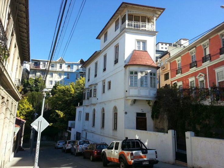Casa Crucero. Cerro Concepción. Valparaíso