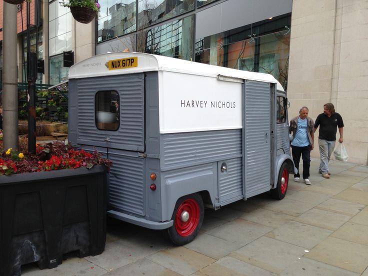 Harvey Nicholls food van, Manchester.