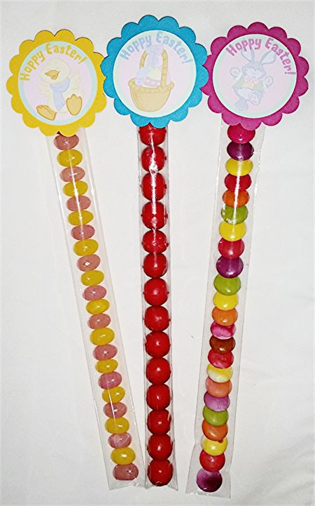 Easter Lolly Tubes - Pack of 12