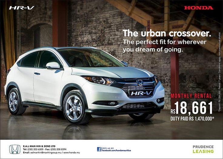 E.A.L Man Hin & Sons Ltd New Honda HRV. Tel 203 6300