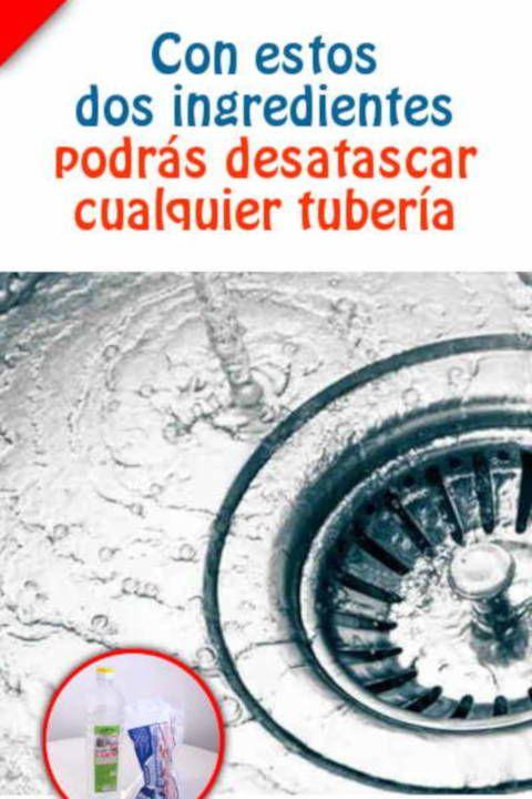 Como Desatascar Cualquier Tuberia En 2020 Trucos De Limpieza