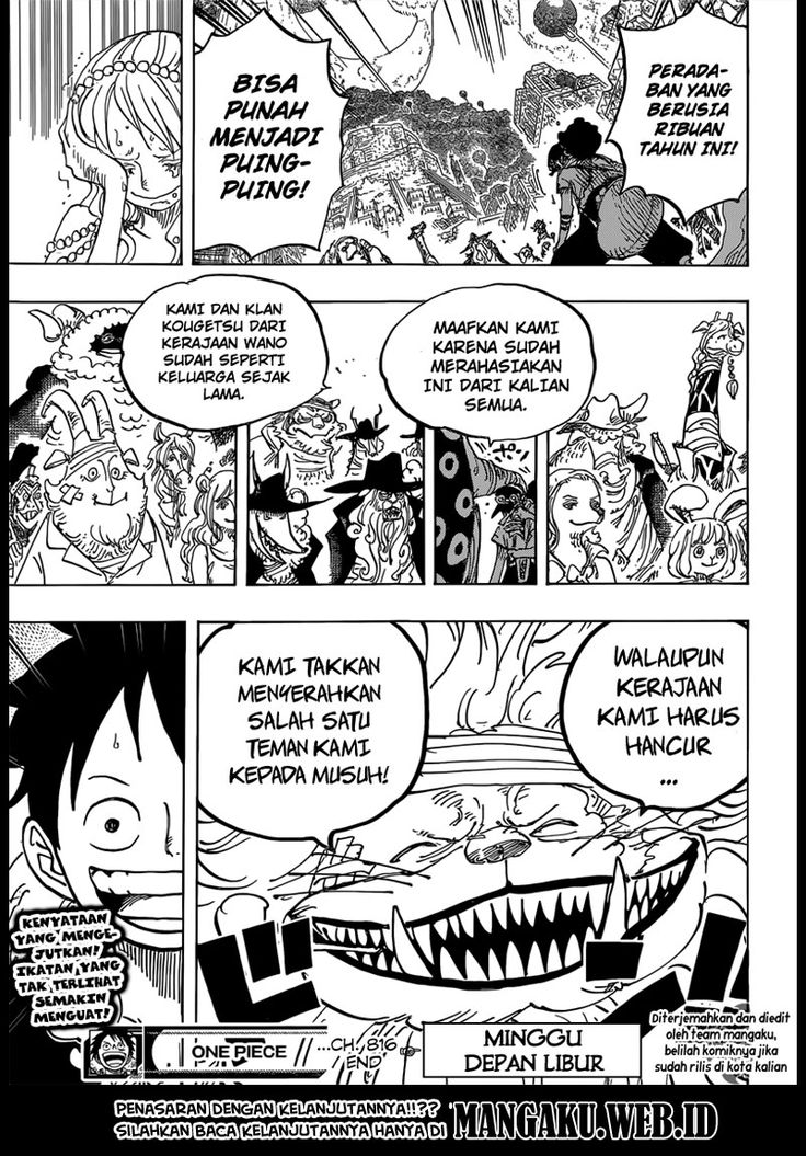 Baca Komik One Piece Chapter 817+ [Spoilers] | SampaiJumpa
