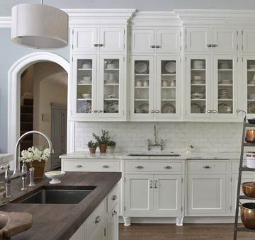 small upper cabinets