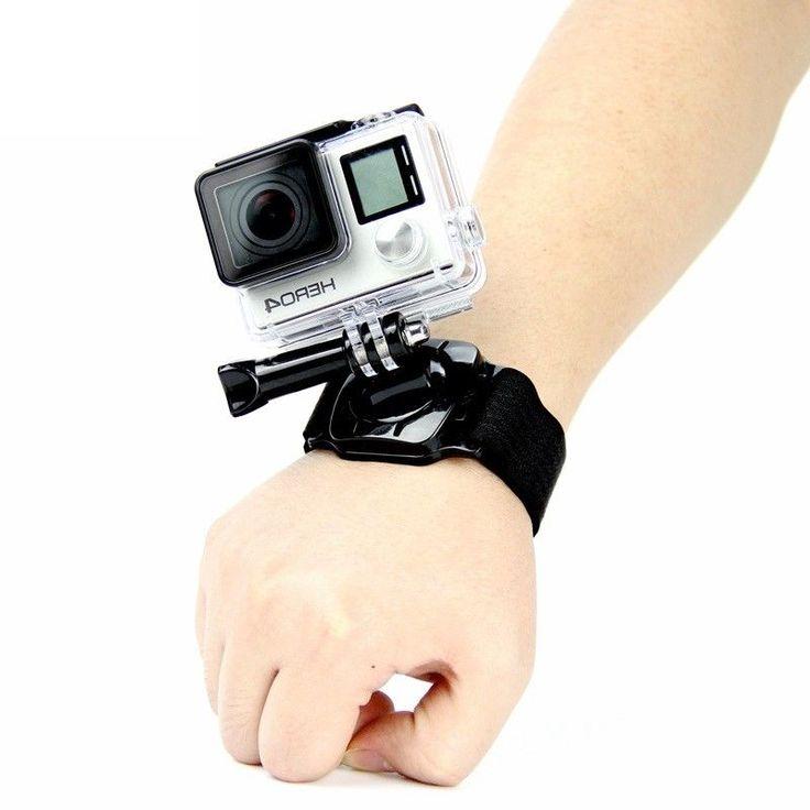 360 Degree Rotate Wrist Strap Arm Mount for Gopro Hero 6 5 4 3+ 3 2 1 Sj4000 #UnbrandedGeneric