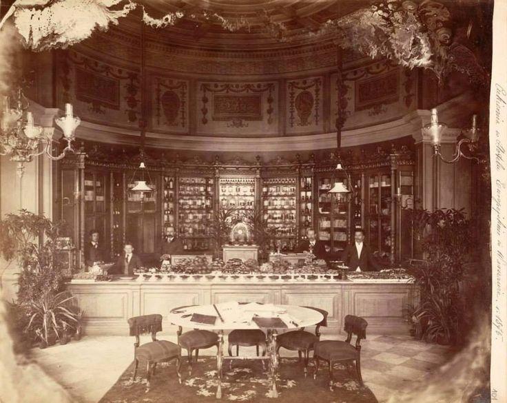 Cukiernia w hotelu Europejskim.