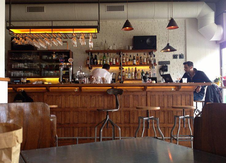 Πsquare coffee bar restaurant interior design Athens Greece
