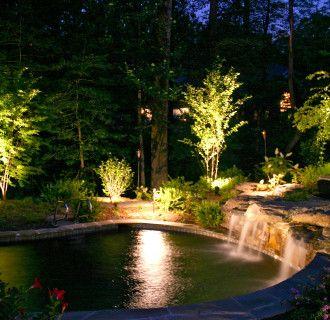 outdoor garden lights ideas photo