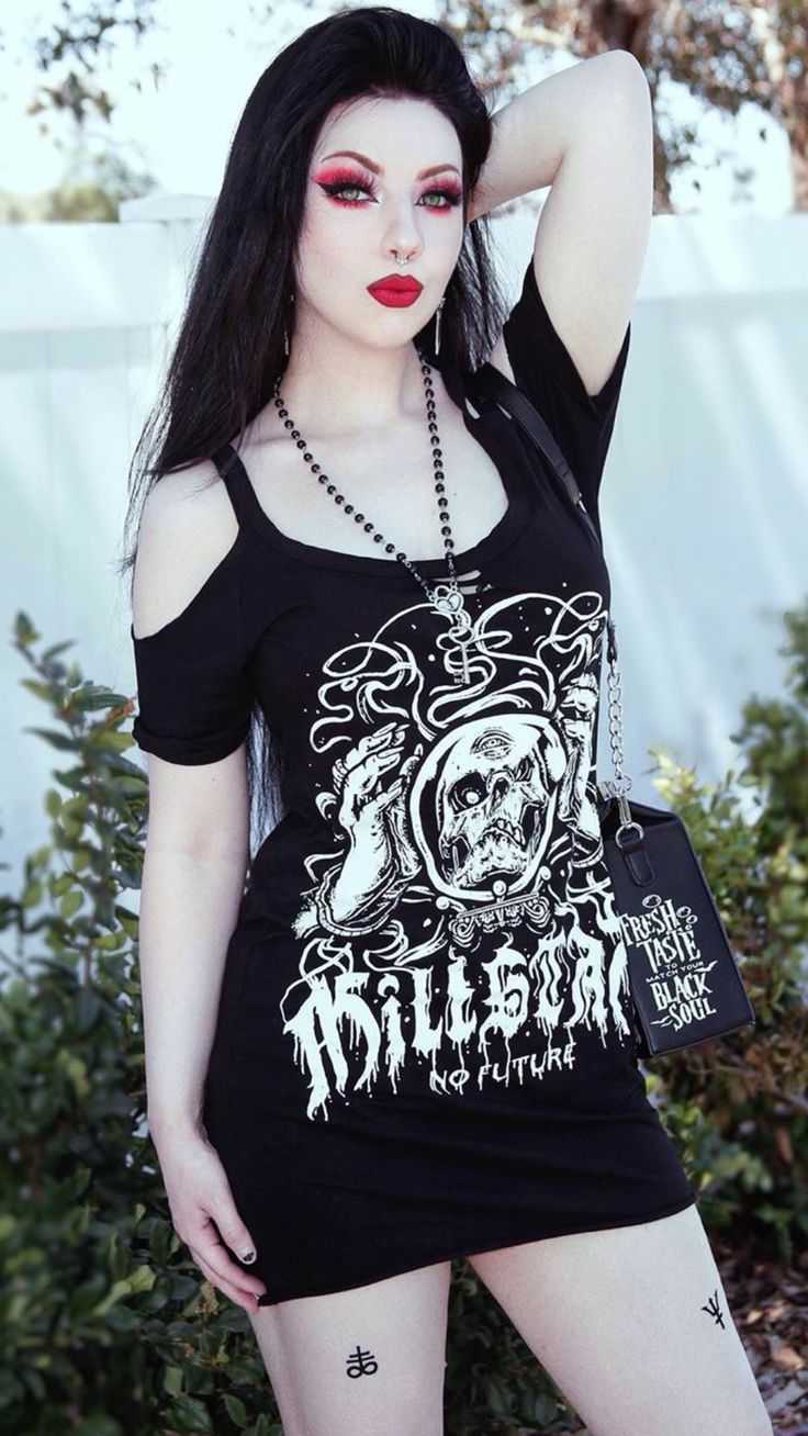 Pin by Michael Cummings on KRISTIANA in 2020 Hot goth
