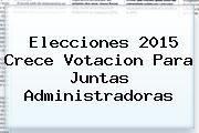 http://tecnoautos.com/wp-content/uploads/imagenes/tendencias/thumbs/elecciones-2015-crece-votacion-para-juntas-administradoras.jpg Resultados Elecciones 2015. Elecciones 2015 crece votacion para Juntas Administradoras, Enlaces, Imágenes, Videos y Tweets - http://tecnoautos.com/actualidad/resultados-elecciones-2015-elecciones-2015-crece-votacion-para-juntas-administradoras/