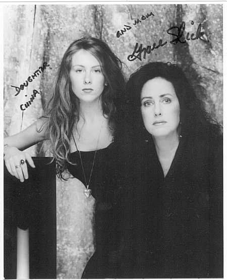 ♡♥Grace Slick with her teen daughter China Kantner♥♡