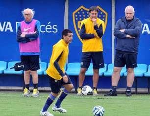 Juan Roman no quiere perder ritmo futbolistico, March 02, 2014