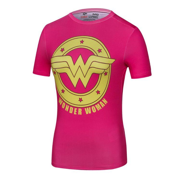 Ladies DC Comics ...  http://omnidragondevelopment.com/products/ladies-dc-comics-marvel-superman-batman-wonder-womens-fitness-t-shirt-girls-bodybuilding-compression-tights-tees-tops?utm_campaign=social_autopilot&utm_source=pin&utm_medium=pin