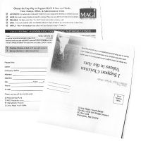 Remittance Envelope / Donation Envelope Printing - #6 3/4 - Not For Profit Printing