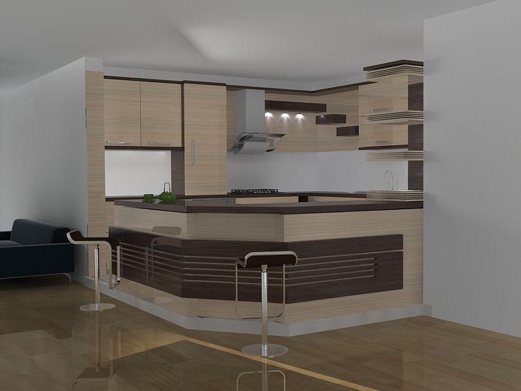طراحی،اجرا کابینت آشپزخانه طراحی داخلی Kitchen Pinterest