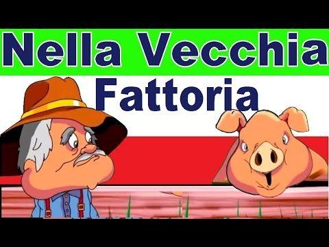 NELLA VECCHIA FATTORIA - canzoni per bambini - YouTube