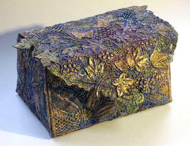 Liz Scobie - Fabric Box