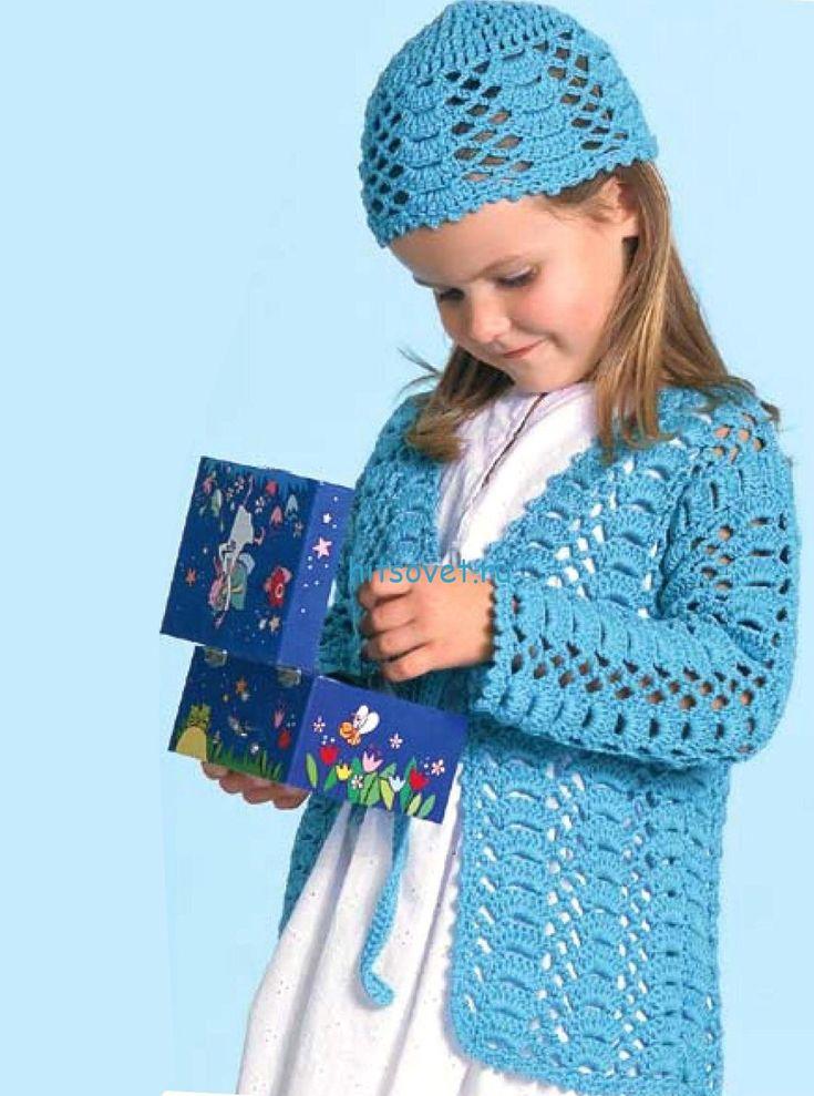 Альбина вязание и жизнь кофточка для девочки