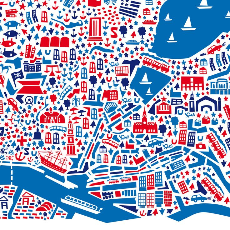 City Map Poster Hamburg