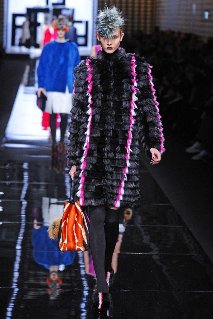 Fendi RTW Fall 2013 - Slideshow - Runway, Fashion Week, Reviews and Slideshows - WWD.com