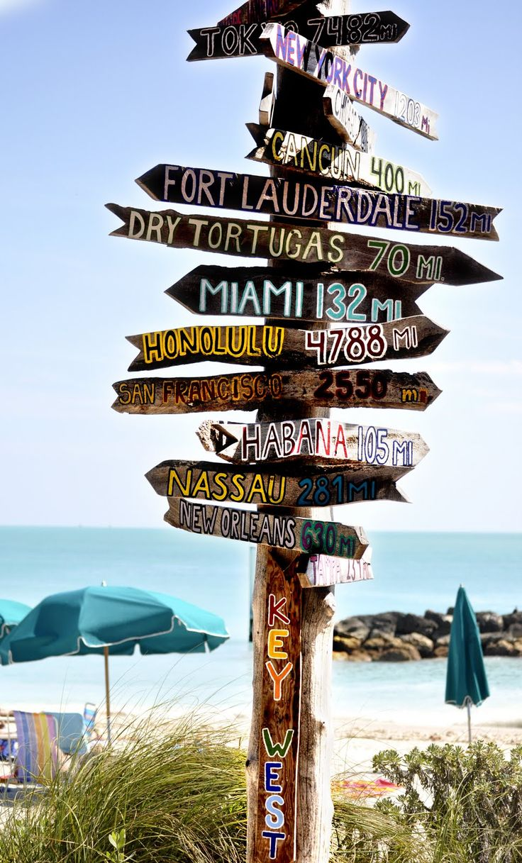 Welcome to Key West Sign | Key West Sign Post http://vacationgypsy.blogspot.com/2010/03/key-west ...