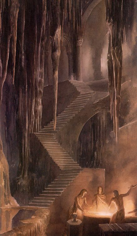 — Alan Lee   The Children of Hurin:
