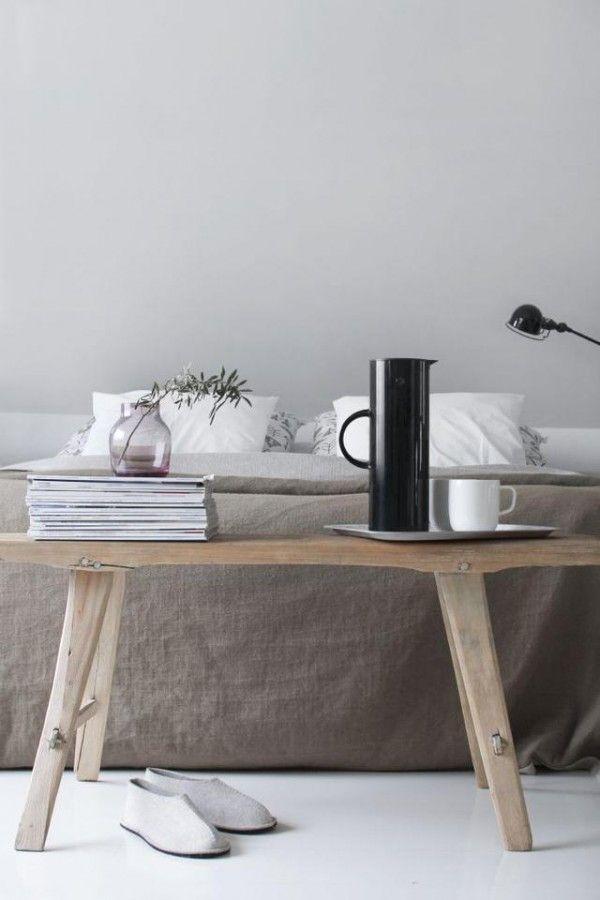 25 beste idee n over slaapkamer bankjes op pinterest kalme slaapkamer ana wit bankje en - Decoratie hoofdslaapkamer ...