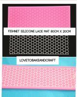 Cake lace, Fishnet cake lace mat, net sugar lace mat, net cake lace, cake decorating mat, Free worldwide shipping