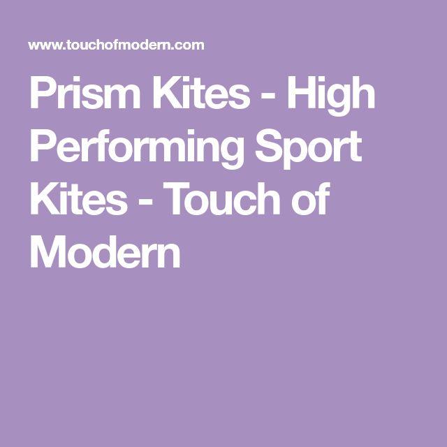 Prism Kites - High Performing Sport Kites - Touch of Modern