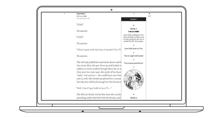 // Getting closer to our first version of Reading and an interesting take on TOC and Navigation.