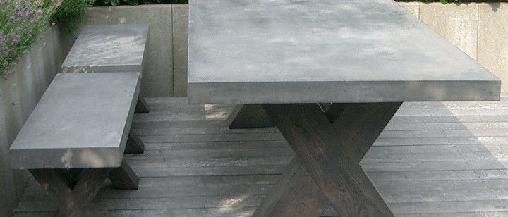 Concrete tabletop 101