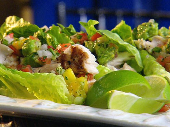 Mahi Mahi Lettuce Wraps from FoodNetwork.com