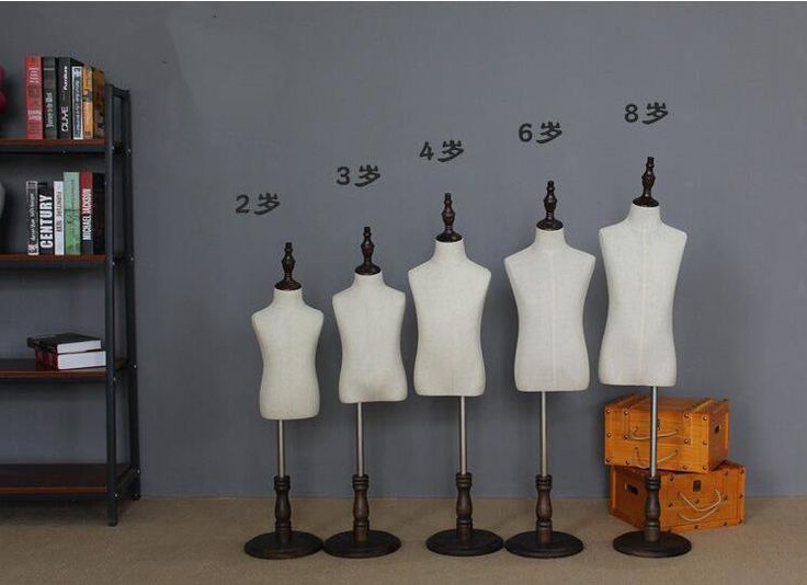 wholesale 23468year schaufensterpuppe Children's half-style models props can wear pants cosmetology adjustable-mannequin 1PCB610