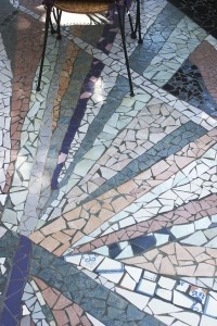 wabi-sabi: how to mosaic tile