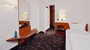 Einzelzimmer im H+ Hotel Siegen